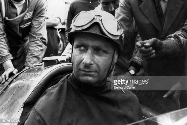 Juan Manuel Fangio, Maserati 250F, Grand Prix of Great Britain, Aintree, 20 July 1957.