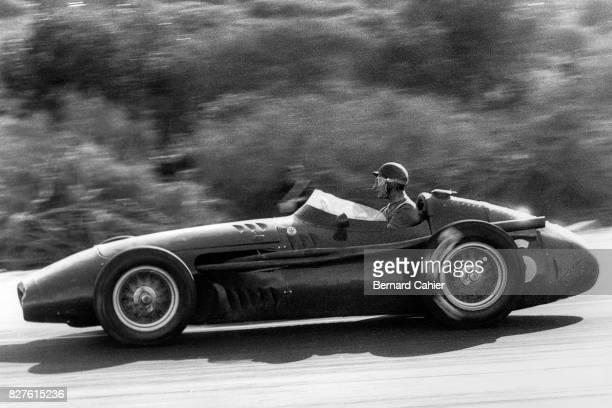 Juan Manuel Fangio, Maserati 250F, Grand Prix of Morocco, Casablanca, 27 October 1957.