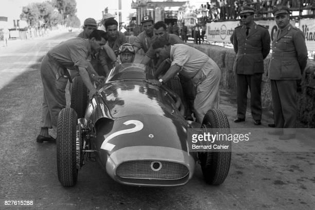 Juan Manuel Fangio, Maserati 250F, Grand Prix of Pescara, Pescara, 18 August 1957.