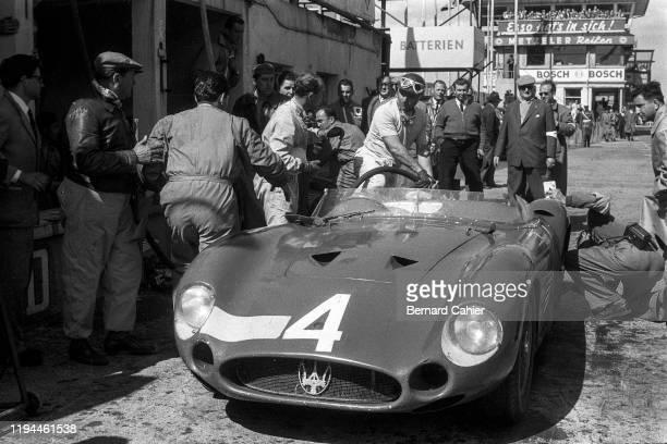 Juan Manuel Fangio, Maserati 300S, Nürburgring 1000 Kilometres, Nurburgring Nordschleife, 26 May 1957.