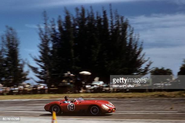 Juan Manuel Fangio, Maserati 450S, 12 Hours of Sebring, Sebring, 23 March 1957.