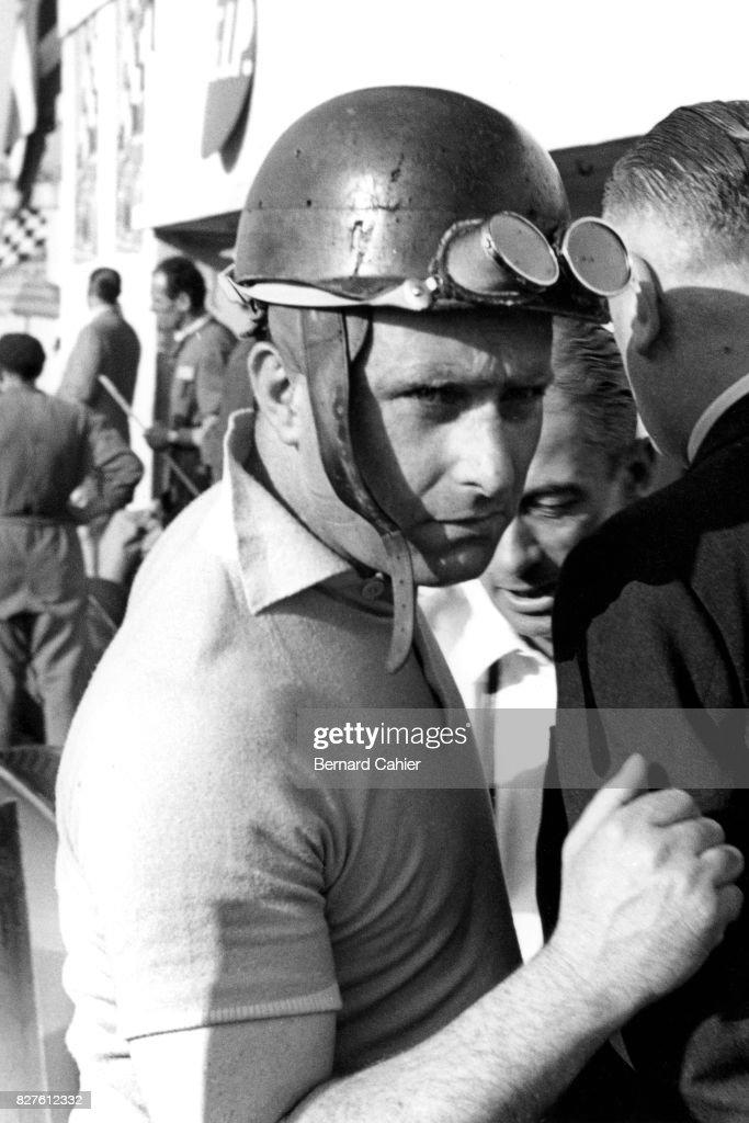 Juan Manuel Fangio, Grand Prix Of Italy : ニュース写真