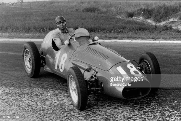 Juan Manuel Fangio, Maserati A6GCM, Grand Prix of France, Reims, 05 July 1953.