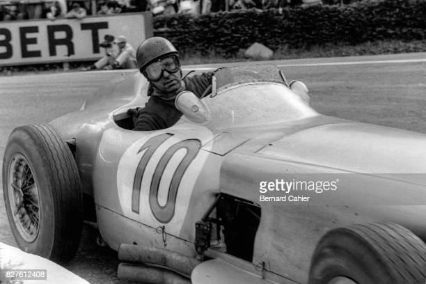 Juan Manuel Fangio, Mercedes W196, Grand Prix of Belgium, Spa Francorchamps, 05 June 1955.