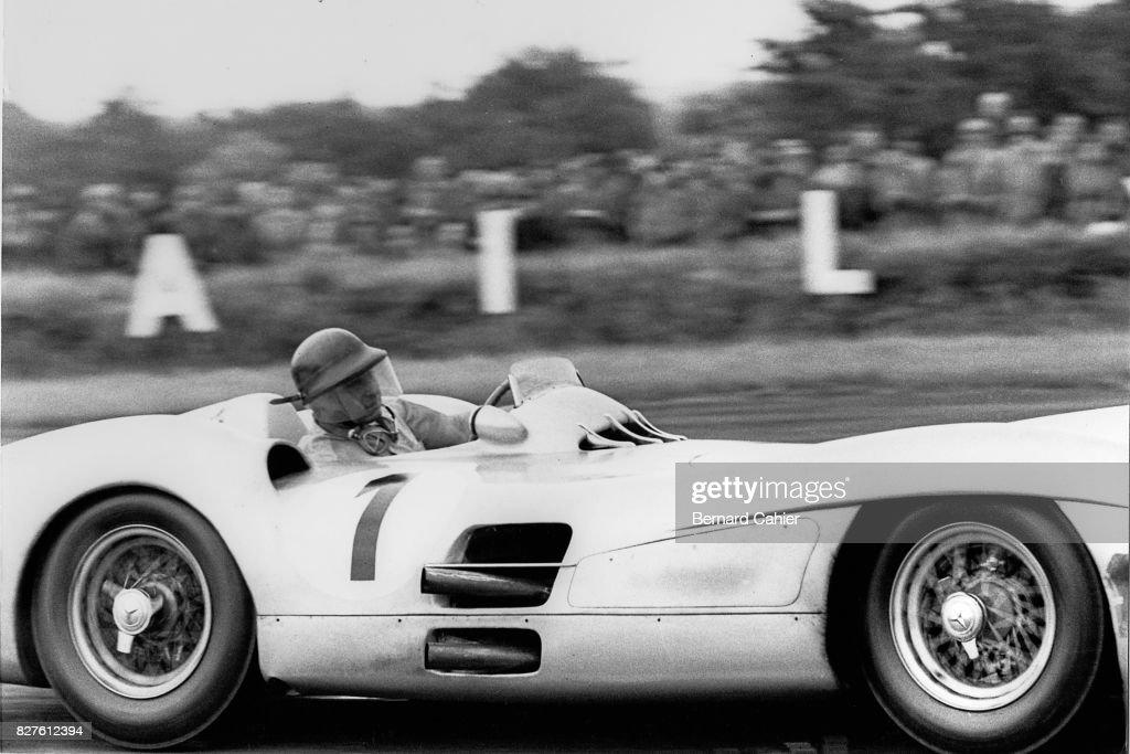 Juan Manuel Fangio, Grand Prix Of Great Britain : ニュース写真