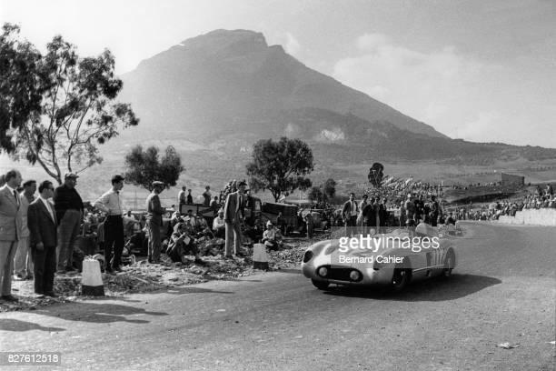 Juan Manuel Fangio, Mercedes-Benz 300 SLR, Targa Florio, Sicily, 16 October 1955.