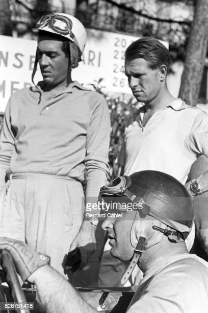 Juan Manuel Fangio Peter Collins Luigi Musso Grand Prix of Monaco Monaco 13 May 1956