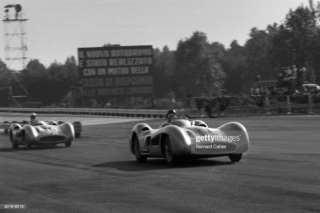 Juan Manuel Fangio, Stirling Moss, Grand Prix Of Italy : ニュース写真