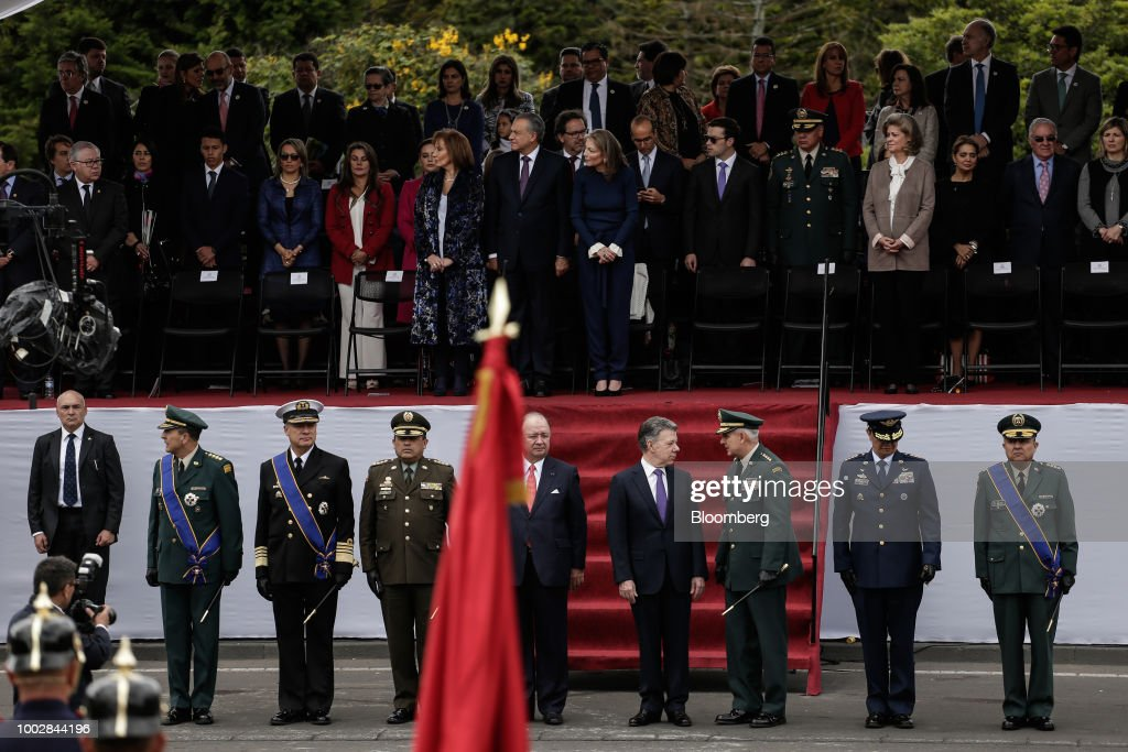 President Juan Manuel Santos Attends Independence Day Parade