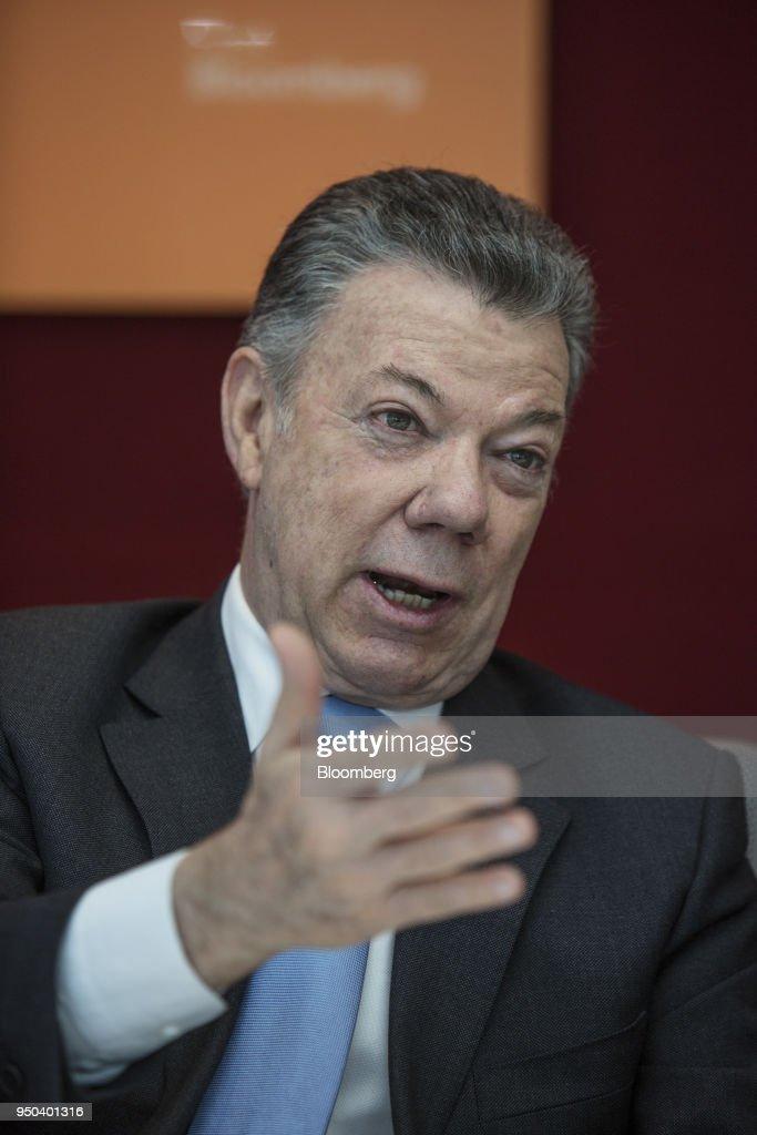 Colombia's President Juan Manuel Santos Interview