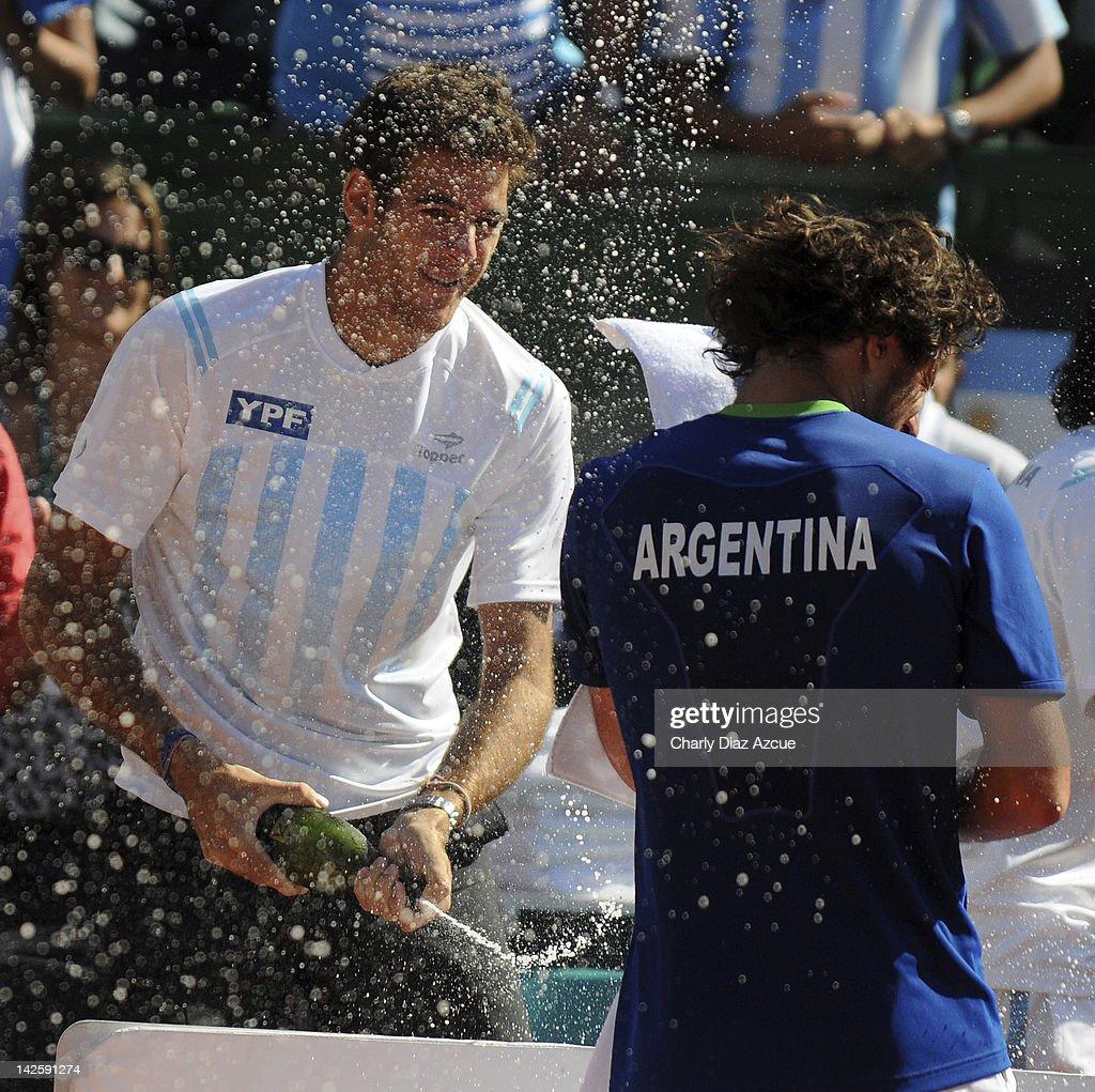 Argentina v Croatia - Davis Cup Day 3