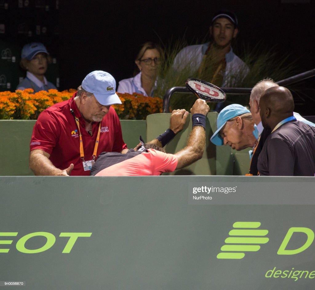 Miami Open 2018 - Day 10 : News Photo