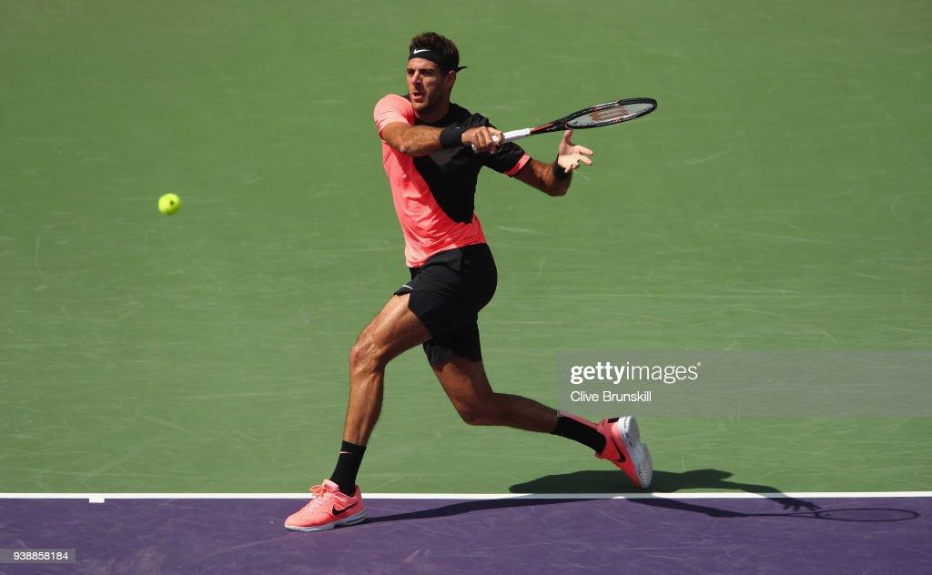 Miami Open 2018 - Day 9 : News Photo