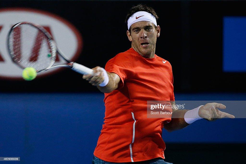 2014 Australian Open - Day 4 : News Photo