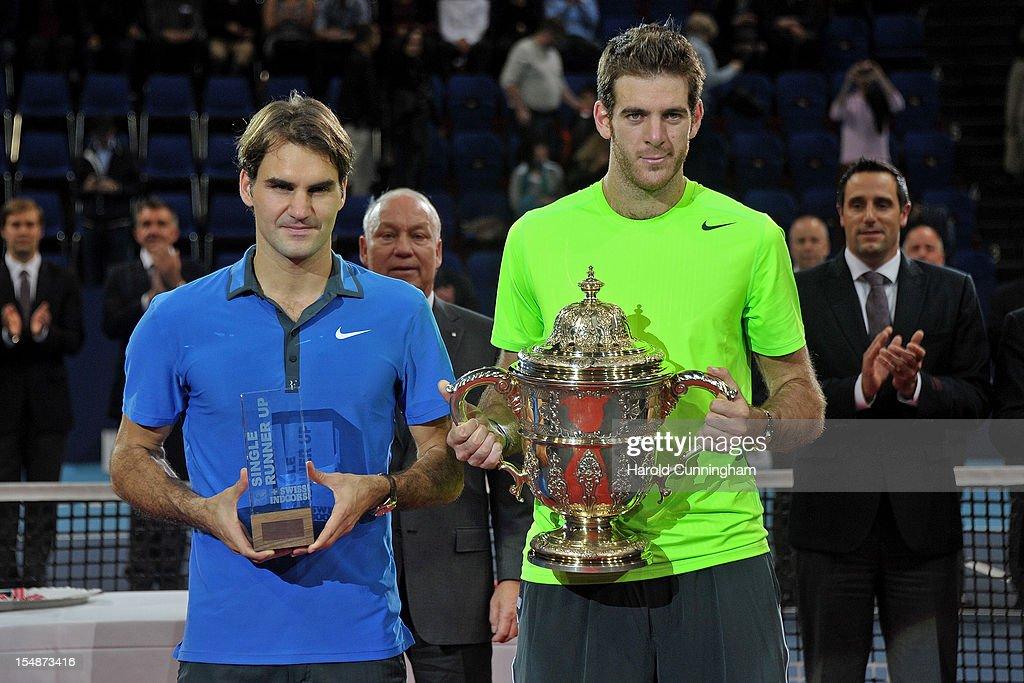 Swiss Indoors ATP Tennis - Final : News Photo
