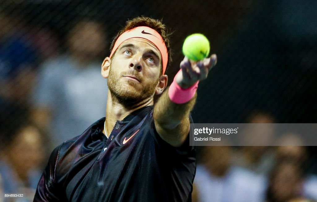 Juan Martin Del Potro v Nick Kyrgios - Exhibition Match : News Photo