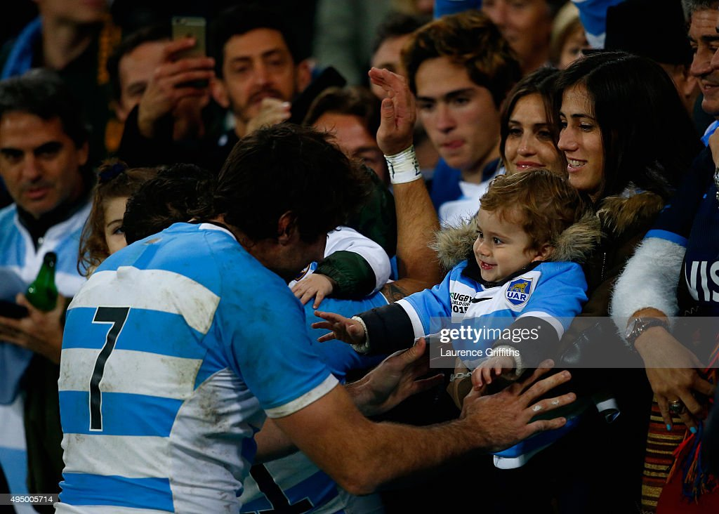 South Africa v Argentina - Bronze Final: Rugby World Cup 2015 : News Photo