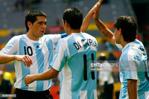 Juan Martin RIQUELME / DI MARIA Argentine / Nigeria Finale du Football Jeux Olympiques 2008 Pekin