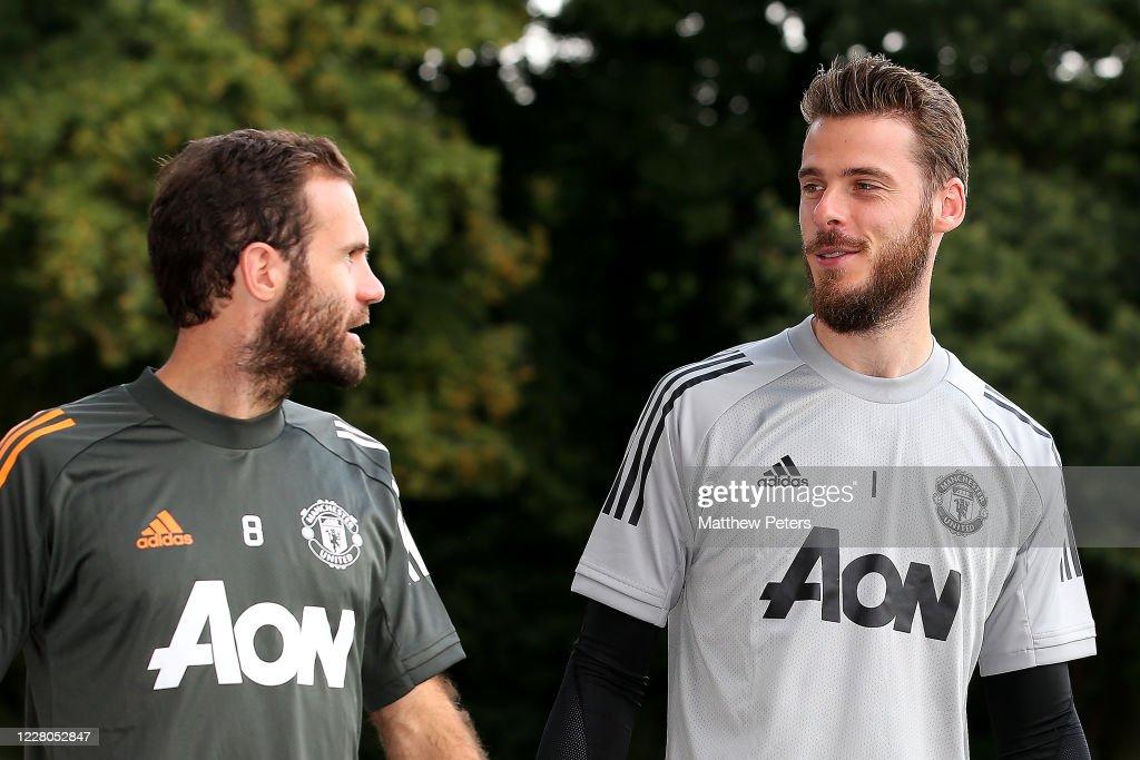 Manchester United Training Session  - UEFA Europa League : Foto jornalística