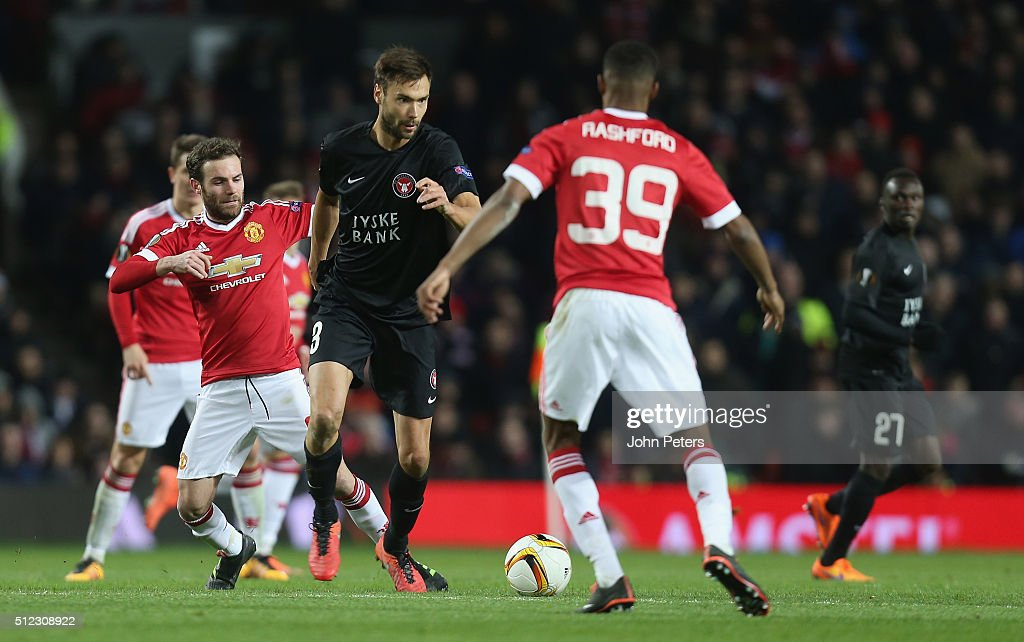 Manchester United v FC Midtjylland - UEFA Europa League Round of 32: Second Leg : News Photo