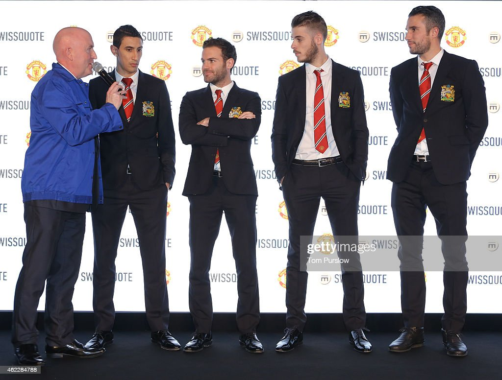 Manchester United Announce Partnership With Swissquote : News Photo