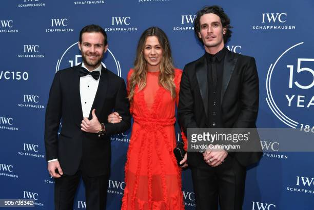 Juan Mata Evelina Kamph and Patrick Seabase attend the IWC Schaffhausen Gala celebrating the Maison's 150th anniversary and the launch of its Jubilee...