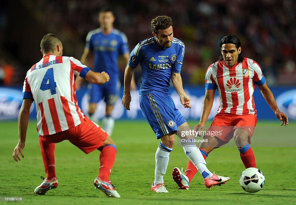 Chelsea v Atletico Madrid - UEFA Super Cup : News Photo
