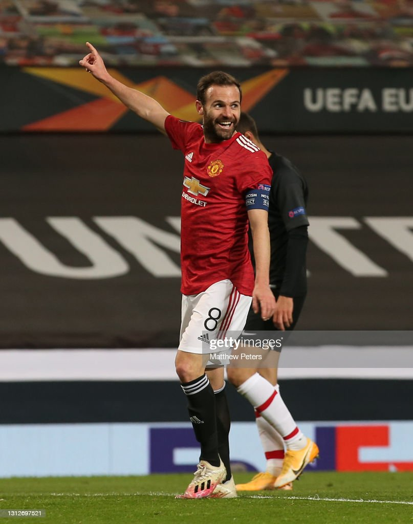 Manchester United v Granada CF - UEFA Europa League Quarter Final: Leg Two : Nieuwsfoto's