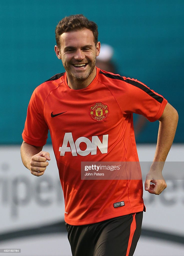 Manchester United FC Training Session In Miami : News Photo