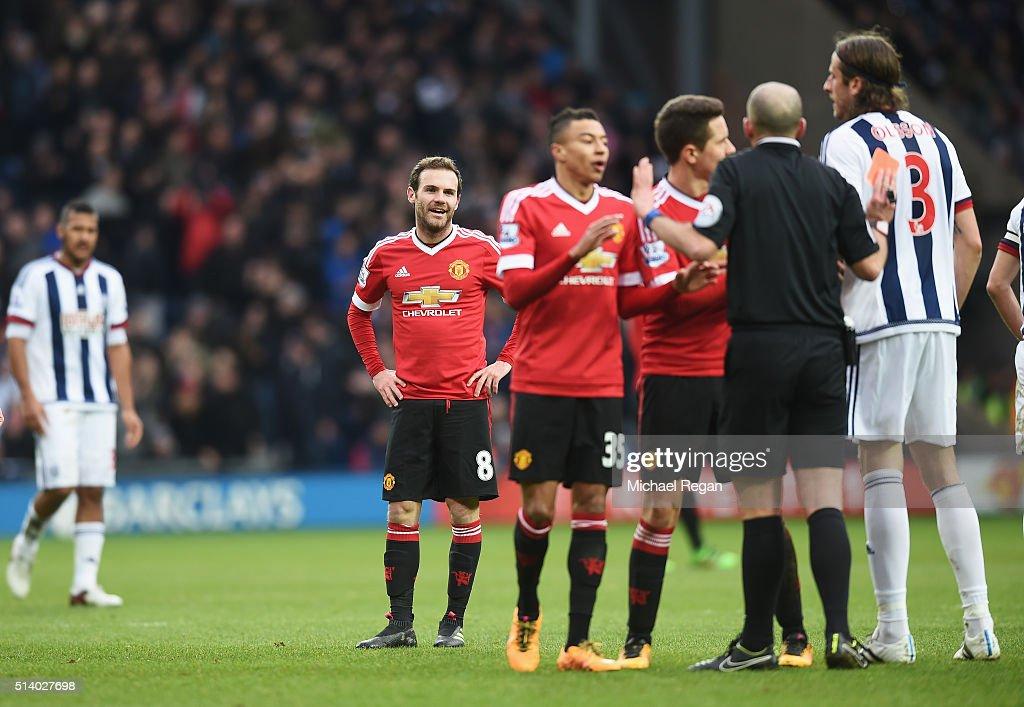 West Bromwich Albion v Manchester United - Premier League : News Photo
