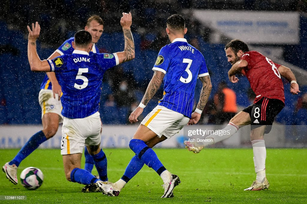 Brighton And Hove Albion v Manchester United - Carabao Cup Fourth Round : ニュース写真