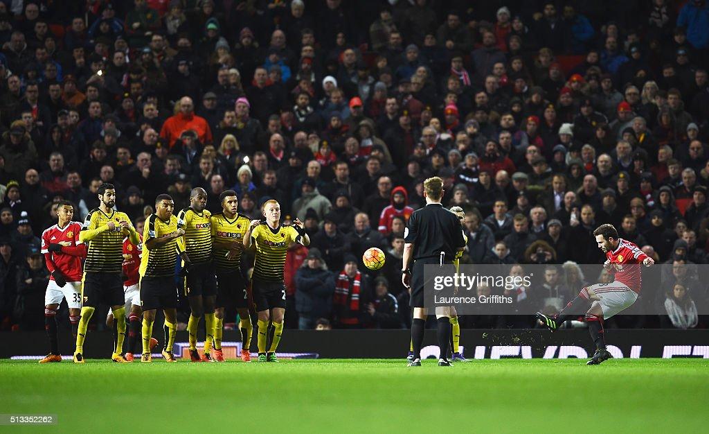 Manchester United v Watford - Premier League : ニュース写真