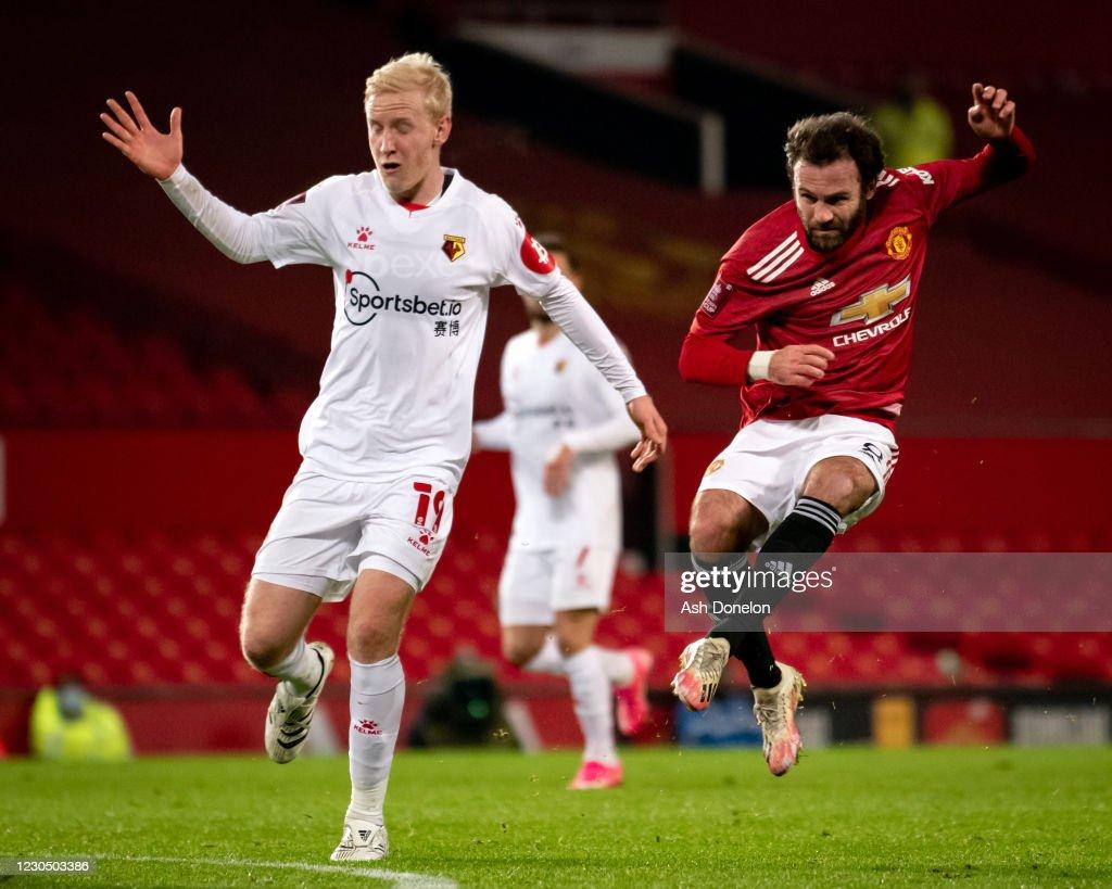 Manchester United v Watford - FA Cup Third Round : News Photo