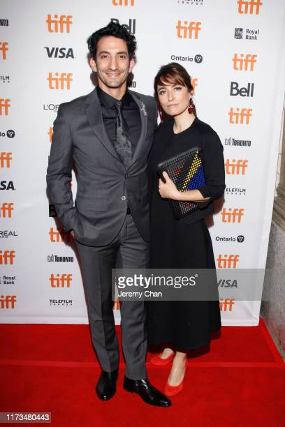 """Juan Minujín and Laura Minujín attend """"The Two Popes"""" premiere during the 2019 Toronto International Film Festival at Winter Garden Theatre on..."""