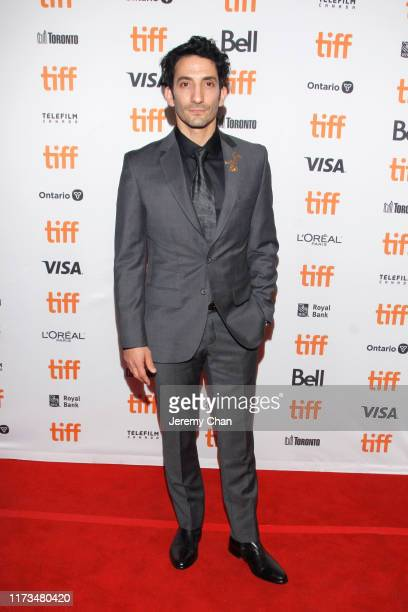 """Juan Minujín attends """"The Two Popes"""" premiere during the 2019 Toronto International Film Festival at Winter Garden Theatre on September 09, 2019 in..."""