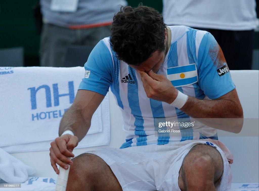 Argentina v Czech Republic - Davis Cup Semi Final - Day One
