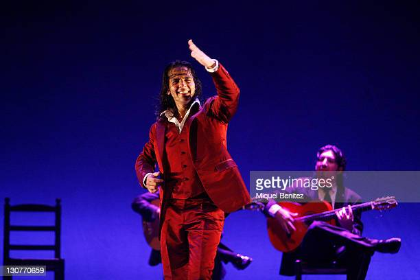 Juan Montoya Farruquito performs Baile Flamenco during the Carmen Amaya Flamenco Second Festival on October 29 2011 in Barcelona Spain