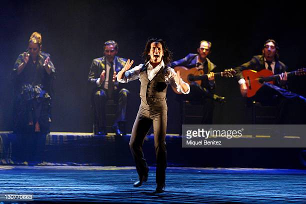 Juan Montoya Farruquito performs Baile Flamenco during the Second Carmen Amaya Flamenco Festival on October 29 2011 in Barcelona Spain