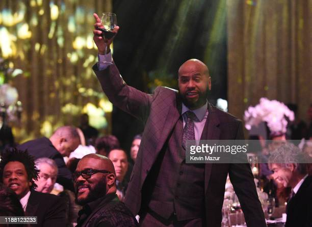 Juan OG Perez attends the Shawn Carter Foundation Gala at Hard Rock Live in the Seminole Hard Rock Hotel Casino on November 16 2019 in Hollywood...