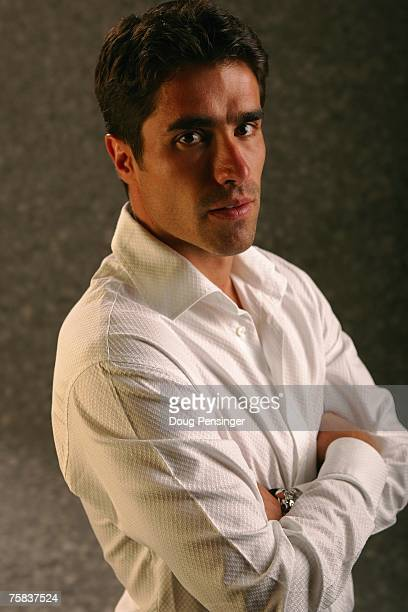 Juan Pablo Angel of Red Bull New York and member of the Major League Soccer All Star Team poses for a portrait on July 18 2007 in Denver Colorado