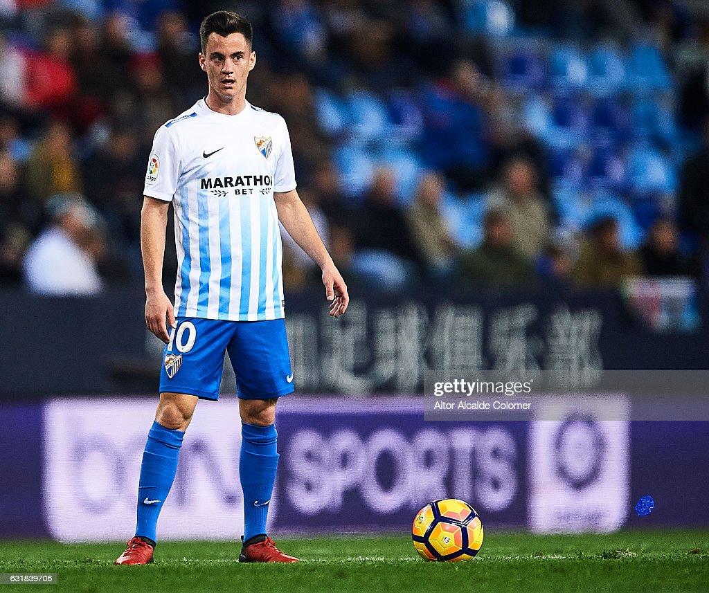 Malaga CF v Real Sociedad de Futbol - La Liga