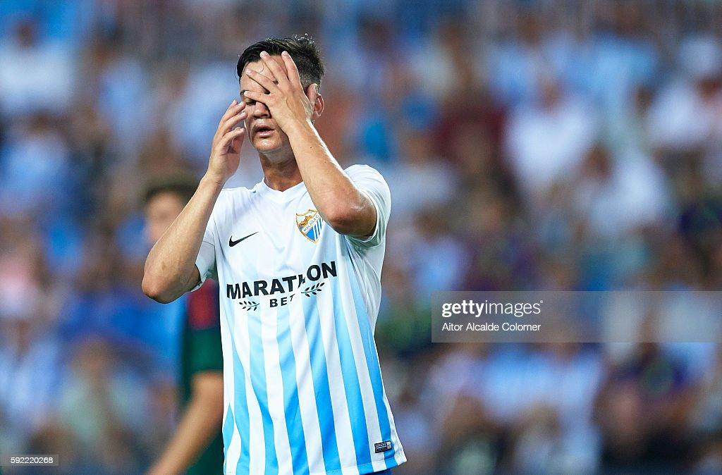 Malaga CF v CA Osasuna - La Liga