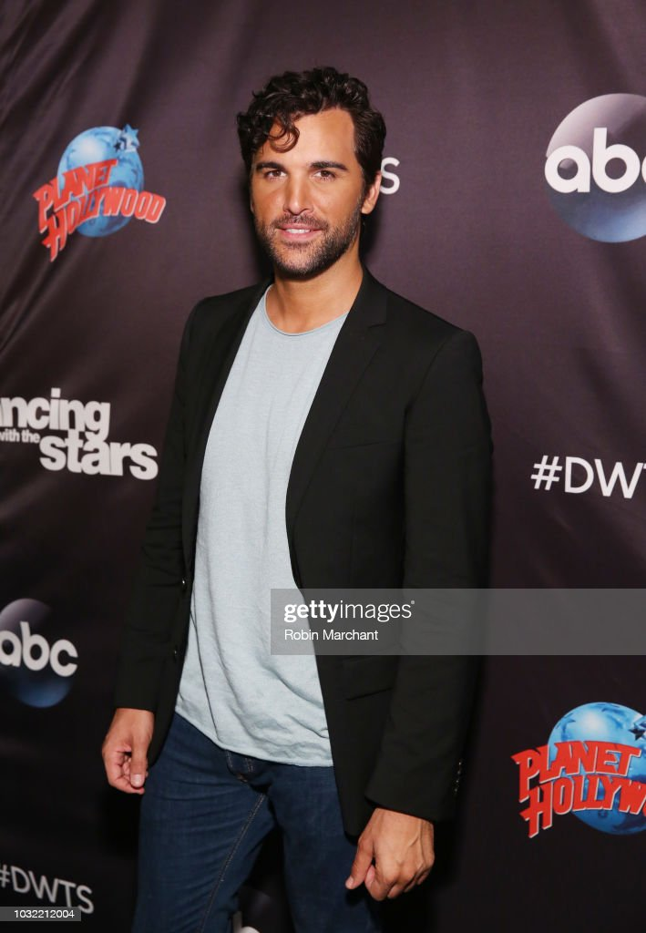 Juan Pablo Di Pace attends Dancing With The Stars Season 27 Cast Reveal Red Carpet At Planet Hollywood Times Square at Planet Hollywood Times Square on September 12, 2018 in New York City.