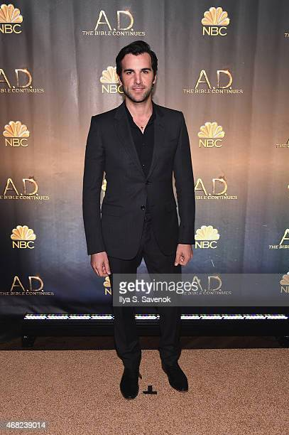 Juan Pablo Di Pace attends the 'AD The Bible Continues' New York Premiere Reception at The Highline Hotel on March 31 2015 in New York City