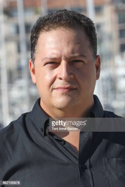 Juan Pablo Escobar attends Photocall for Escobar Uncovered as part of MIPCOM at the Palais des Festivals on October 16 2017 in Cannes France