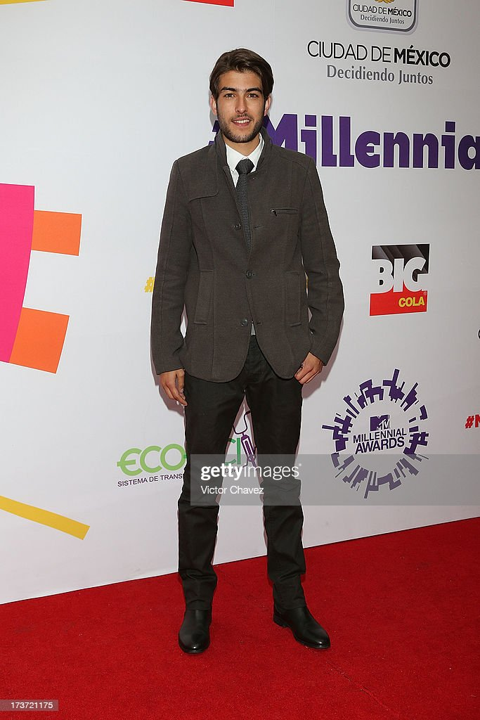 Juan Pablo Gill attends the MTV Millennial Awards 2013 at Foro Corona on July 16, 2013 in Mexico City, Mexico.