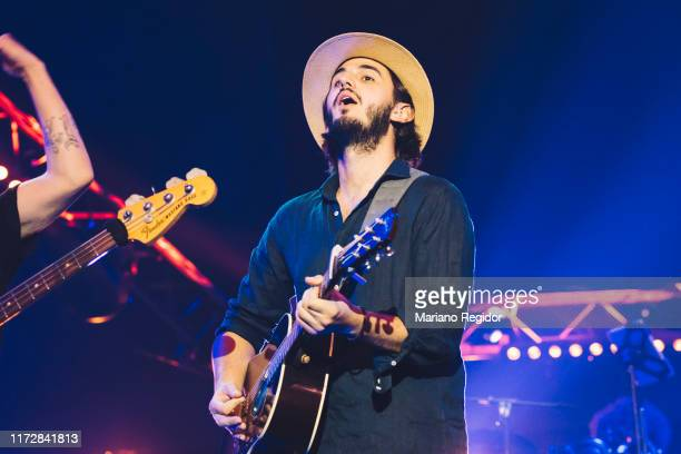 Juan Pablo Isaza of Morat performs onstage at Wizink Center during Vive Dial 2019 on September 06 2019 in Madrid Spain