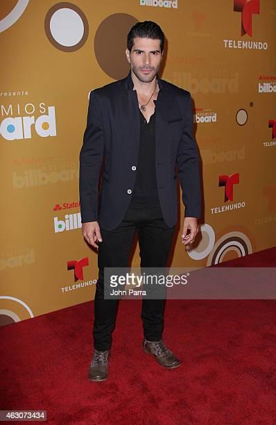 Juan Pablo Llano attends Billboard Latin 2015 Finalists Nominations Press Conference on February 9 2015 in Doral Florida