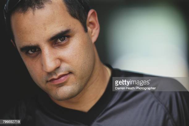 Juan Pablo Montoya of Colombia driver of the McLaren Mercedes McLaren MP421 Mercedes V8 during practice for the Formula One Petronas Malaysian Grand...