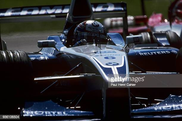 Juan Pablo Montoya WilliamsBMW FW23 Grand Prix of Italy Autodromo Nazionale Monza 16 September 2001 Juan Pablo Montoya on the way to victory in the...